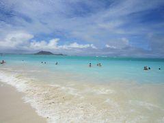 特典航空券で行ったハワイ(3) ラニカイにリトライ、ようやく晴れました