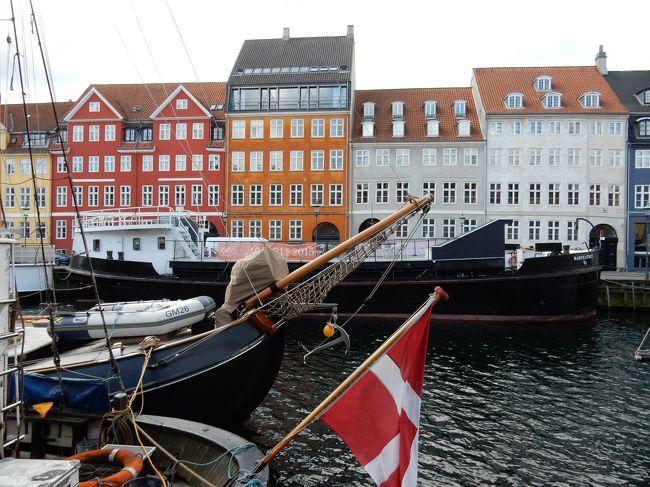 人生初の北欧旅行です。<br /><br />フランクフルトまでの特典航空券が取れたため、<br /><br />フランクフルト(7/25IN)<br />→コペンハーゲン(7/25-7/28)<br />→ストックホルム(7/28-7/30)<br />→ライン川流域(7/30-8/1)<br /><br />で観光しました。<br /><br />旅行記は、コペンハーゲンの街を歩き回った到着1日目、2日目です。<br /><br />コペンハーゲンは徒歩で十分観光できますが、その代償は1日3万歩オーバーの歩数に現れました。<br /><br />