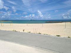 台風接近間近の沖縄旅行