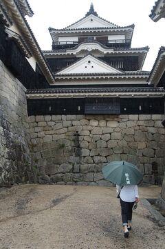 トラピックス四国周遊2泊3日(4)松山城で司馬遼太郎の「坂の上の雲」を想い、坊っちゃん列車に乗って松山市内を走る。