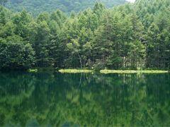 高原の夏休み2日目 絶景探しのドライブ 御射鹿池・白駒の池