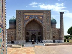 4:ウズベキスタン ミナレット登った!レギスタン広場