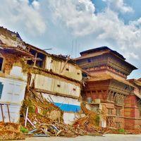 娘と二人で南アジアの旅:3.震災後のカトマンズ