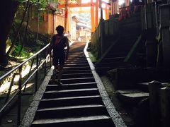 真夏の京都でトレイルラン!