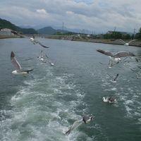 浦富海岸島めぐり遊覧船に乗る