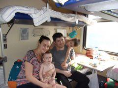 還暦一人旅シベリア鉄道3等車は旅人の温もりがあった。Eチケットではダメと言われ帰国かと心配