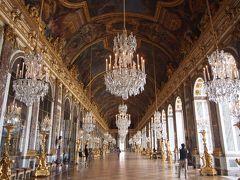 France-paris/6日間/ヴェルサイユ宮殿と朝市/④