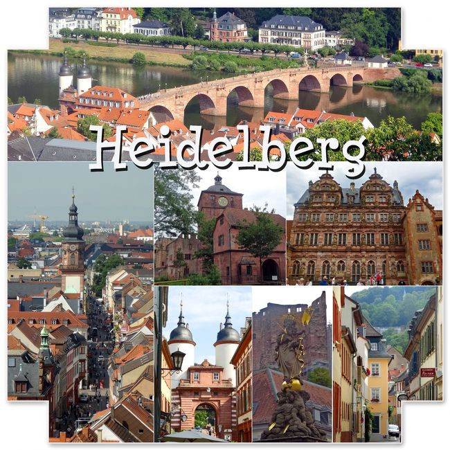 夏休み、ドイツ、ルクセンブルク電車とバスの旅1 ハイデルベルク編 -Hotel Tannhauser Heidelberg  (ホテル タンホイザー)宿泊 、大学のメンザ「ツォイクハウス(Zeughaus)」でランチ-