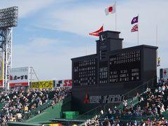 兵庫県西宮市 甲子園球場で夏の高校野球大会観戦(2015年8月)