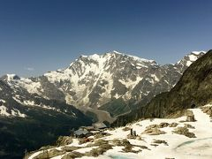 スイス・ハイキングの旅 2015夏(10) モンテ・モロ峠