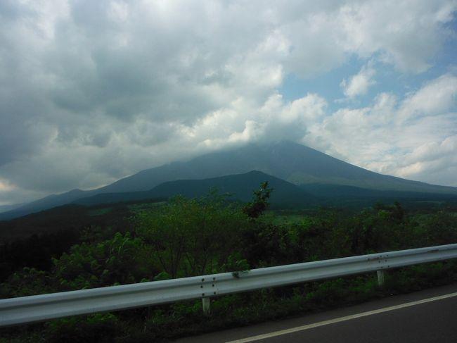 日本百名山のひとつ岩手山へ行ってきました。