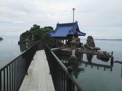国指定名勝「不知火及び水島」 ※熊本県八代市