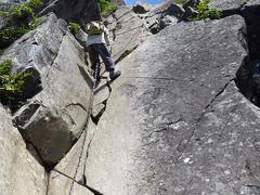 【日帰り登山】夏の乾徳山 壁を登る。