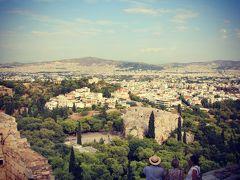 美しいビーチと絶景を求めてアテネ・キプロス・サントリーニ島の旅 Day1-2@アテネの遺跡巡り