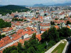 ★スロベニアあちこち(8)リュブリャーナ城へ