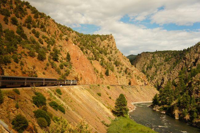 2015アメリカ大陸横断ひとり旅9日間vol.3(大陸横断鉄道で越えるロッキー山脈)