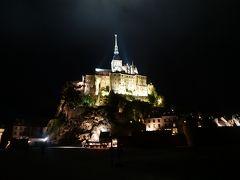 パリ~ノルマンディ・ドライブ #8 - 幻想的なモンサンミッシェルの夜景