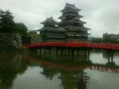 城巡り・・・昔がそのまま松本城