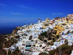美しいビーチと絶景を求めてアテネ・キプロス・サントリーニ島の旅 Day5-7@憧れのサントリーニの夕日