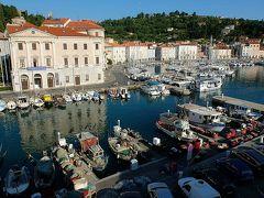 ★スロベニアあちこち(10)アドリア海沿岸の町ピラン到着