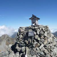 北アルプス 奥穂高岳 3190m・涸沢 2012年秋登山