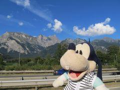 グーちゃん、スイスアルプスへ行く!(スイス到着!なんじゃこの景色!編)