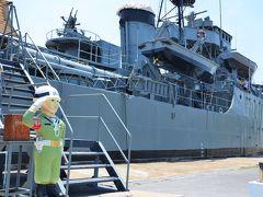 タイ チャオプラヤの河口で軍艦メークロン号に乗ってみる オッサンネコの一人旅