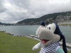グーちゃん、スイスアルプスへ行く!(サンモリッツ湖で逆ナンされる??編)