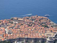 アドリア海の青とドブロクニクの赤い屋根