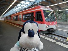 グーちゃん、スイスアルプスへ行く!(テーシュ/スイスワインをご賞味!編)