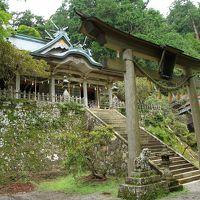山深く霊気みなぎる玉置神社 神秘的です。 帰り道、谷瀬のつり橋を渡って来ました。