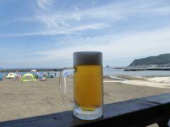 夏の優雅な伊豆旅行♪ Vol6 ☆伊東:伊東のビーチで優雅に過ごす♪