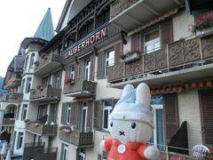 グーちゃん、スイスアルプスへ行く!(ユングフラウに見事なお月様!編)