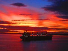 世界一周・船旅 最後の寄港地ガダルカナル入港