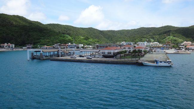 今年の2月頃だったか、沖縄ー香港間にLCCピーチが就航して香港から沖縄への旅がぐっと身近になりました(^ ^)。これまで香港ー沖縄間にはLCCがなく、また就航便数も少なかったため、距離は半分しかないのに大阪や東京へ行く航空券の方が安いくらいだったんです。<br />6月下旬に一週間ほど時間がとれることが分かり、さっそくセールで航空券をゲットしました(^ ^)v<br />石垣や竹富島にも行きたかったんですが、夏休みの旅行の予定もあり、なるべく費用を抑えたかったため、那覇から船で行ける座間味島に決定。慶良間諸島は海が本当にキレイなようでそれが一番の楽しみでした(^ ^)<br /><br />梅雨が明けるか明けないかくらいの微妙な時期でしたが、幸い旅行開始の数日前にすでに梅雨明けしており、特に座間味滞在中はずっといいお天気に恵まれて、ケラマブルーを存分に楽しむことができてラッキーでした。<br /><br />旅のスケジュール(●が本編の部分)<br />●24日 香港→那覇 那覇泊<br />●25日 那覇→座間味 高月山展望台、古座間味ビーチなど 座間味泊<br /> 26日 阿真ビーチ、神の浜展望台など 座間味泊<br /> 27日 阿嘉島・慶留間島・外地島ハイキング、北浜ビーチなど 座間味泊<br /> 28日 座間味→那覇 レンタカーで本部町へ 美ら海水族館 本部泊<br /> 29日 本部半島周遊 レンタカーで北谷町へ 北谷泊<br /> 30日 レンタカーで那覇へ 那覇→香港<br /><br />まず香港から那覇へ。1日目は那覇泊まり。那覇市内でバタバタと用事やお買い物を済ませ、牧志市場周辺をちょこっと観光。<br />そして2日目。朝10時発のフェリーざまみで座間味島へ。ものすごくお天気が良くて、2時間ほどの間ずっとデッキで過ごしましたが、本当に気持ちがよかったです。阿嘉港を経てお昼頃に座間味港に到着。座間味での宿は民宿「なかやまぐわぁ」さん。ここで3泊しましたが、のんびりできてとてもいい宿でした。<br /><br />旅行記のもくじ<br />1香港出発~座間味港到着 本編<br /><br />2座間味島 前編(高月山展望台、古座間味ビーチ)<br />http://4travel.jp/travelogue/11049232<br />3座間味島 後編(阿真ビーチ、神の浜展望台)<br />http://4travel.jp/travelogue/11049233<br />4阿嘉島・慶留間島・外地島<br />http://4travel.jp/travelogue/11054737<br />5泊港~本部(美ら海水族館と瀬底島)<br />http://4travel.jp/travelogue/11054740<br />6今帰仁・古宇利島~北谷~香港へ<br />http://4travel.jp/travelogue/11054747<br /><br />では、どうぞよろしくお願いします(^ ^)