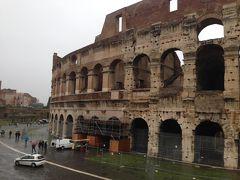 地中海クルーズ後 イタリア ローマ