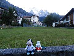 グーちゃん、スイスアルプスへ行く!(アルメントフーベルのまぶしい丘!編)