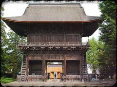 弘前城の西南に集められた、曹洞宗33ヶ寺町「禅林街」