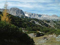 2010年秋オーストリアハイキング【4】ダハシュタイン
