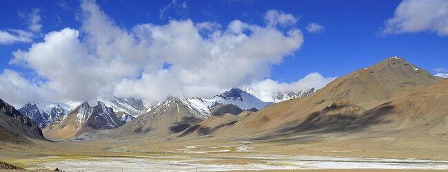 パミール高原縦断 山と花と人と 10霰...