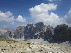 2015チロル・ドロミテで山歩き(その7 ラガッツィオ・ピッコロとコルティナの街歩き)