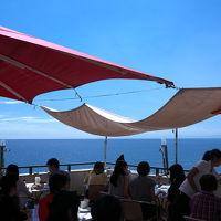 海が見える高台のレストランでささやかなバースデー(^_^)