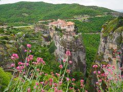 奇岩とエーゲ海の島々を行く ギリシャ女一人旅2(奇岩の修道院へ)