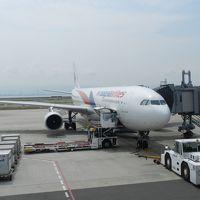 マレーシア航空初搭乗♪(関空~クアラルンプール~ランカウイ)◆2015年の夏休みはランカウイ島へ!≪その1≫
