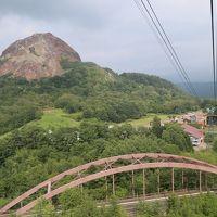 昭和新山からロープウェーで有珠山へ