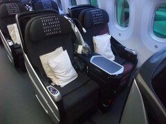 JAL・B787ビジネスクラス(JL069 ロサンゼルスー関西)搭乗記