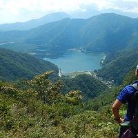 御坂山塊 王岳 西湖・精進湖・そして樹海へ