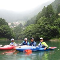 2015年8月8日:奥多摩 白丸湖にてカヌー体験&秋川渓谷 瀬音の湯