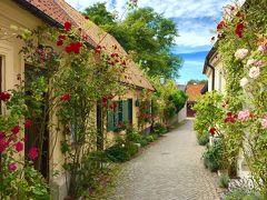 真夏のスウェーデン8日間・ゴットランド島へ!~薔薇と廃墟の街ヴィスビィ~