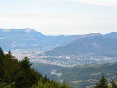 白い恋人たちで有名なフランス グルノーブル,夏のスキー場